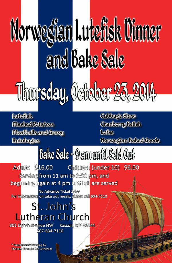Lutefisk Poster 2014