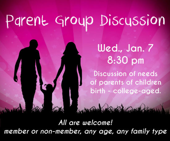 Parent Group Discussion