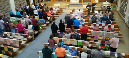 Quilt Sunday 2015 at St John's