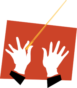 Conducter's Hands and Wand