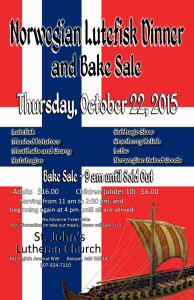 Lutefisk Poster 2015