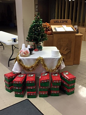 15 Operation Christmas Child Collection