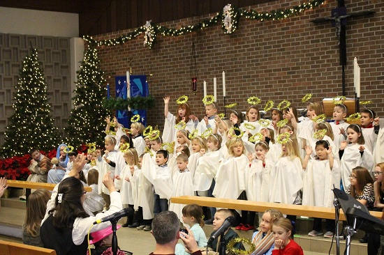 Click on the image to view more pictures from the Christmas program.