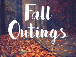 Fall Outings with Adult Fellowship