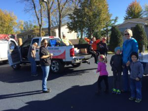 Successful Operation Christmas Child Parade