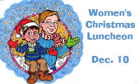 Laughter & Lunch at annual Women's Christmas Luncheon