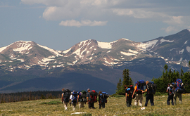 Youth & Adult Backpacking Trip