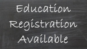 Fall education program registration now available