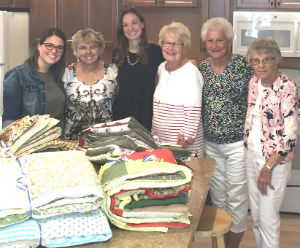 Women of St. John's share the warmth of God's love