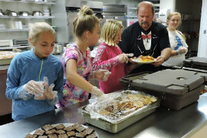 Help us prep for Oasis meals